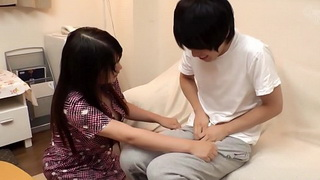 Real Japanese Mom and Stepson fuck at Home