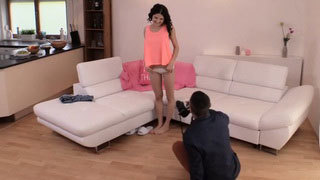 Hairy Teen gets Banged during Photoshoot
